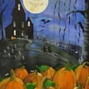 Haunted Night Art Print