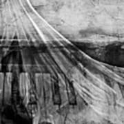 Haunted Piano Art Print