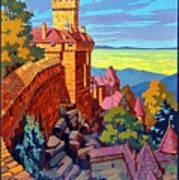 Haut Koenigsburg Castle, Alsace, France Art Print