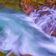 Torrent Waterfall 2 Art Print