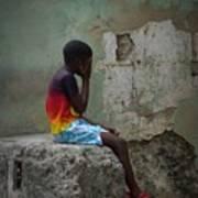 Havana Boy Art Print