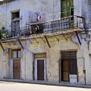 Havana City Apartments  Art Print