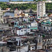 Havana Cityscape Art Print