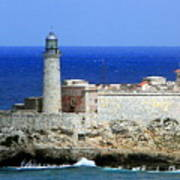 Havana Harbor Lighthouse Art Print