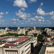 Havana Rooftops Art Print