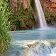 Havasu Falls Travertine Ledge Art Print