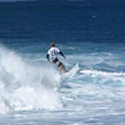 Hawaii Pipeline Surfer Art Print