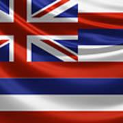 Hawaii State Flag Art Print
