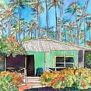 Hawaiian Cottage I Art Print