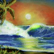 Hawaiian Moon #399 Art Print