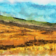 Hawaiian Pasture Art Print