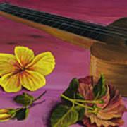 Hawaiian Ukulele Art Print