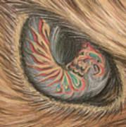 Hawk Eye Thunderbird Art Print