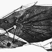 Hawk Glider, 1896 Art Print