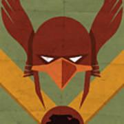 Hawkman Art Print by Michael Myers