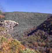 Hawksbill Crag Art Print
