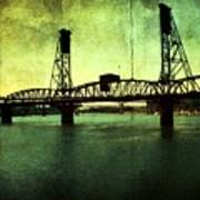 Hawthorne Bridge Print by Cathie Tyler