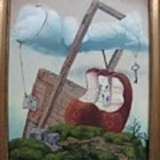 Hay Puertas Que No Se Cierran Art Print by Carlos Rodriguez Yorde