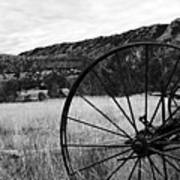 Hay Rake At The Ewing-snell Ranch Print by Larry Ricker