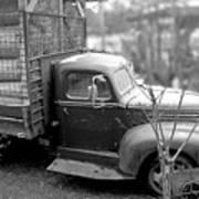 Hay Truck Art Print