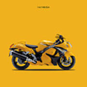 Hayabusa In Yellow Art Print