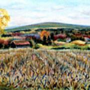 Haycock Mountain In Bucks County Pa Art Print
