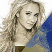Hayden Panettiere Collection Art Print