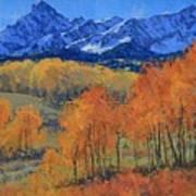 Hayden Peak Art Print