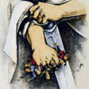 Haymarket Trial, 1886 Art Print