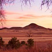 Haystack Mountain - Boulder County Colorado -  Sunset Evening Art Print