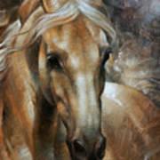 Head Horse 2 Art Print