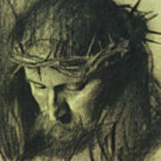 Head Of Christ Art Print