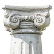 Head Of Column Art Print