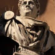 Head Of Nero In Venice Art Print
