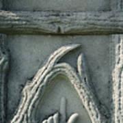 Head Stone  Art Print