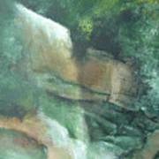 Headstone Falls Art Print