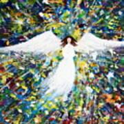 Healing Angel 1 Art Print