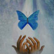 Healing Hands Art Print by Terri Maddin-Miller