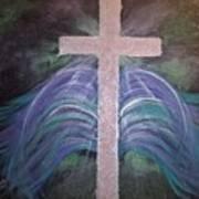 Healing In His Wings Art Print