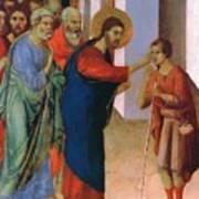 Healing The Man Born Blind Fragment 1311 Art Print