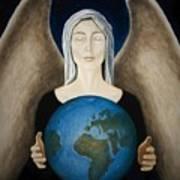 Healing The Planet Art Print