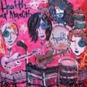Health Plays Monolith Art Print