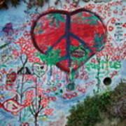 Healthy Graffiti Art Print