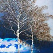 Healthy Trees Art Print