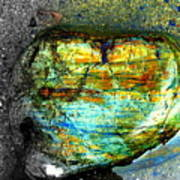 Heart As A Rock Art Print