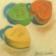 Heart Candy Art Print