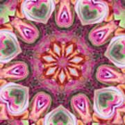 Heart Garden Art Print