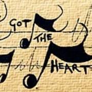 Heart Of A Star Art Print