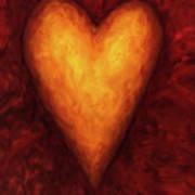 Heart Of Gold 3 Art Print