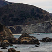 Heart Of The Bixby Bridge Art Print